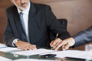 podpisanie dokumentów firmowych
